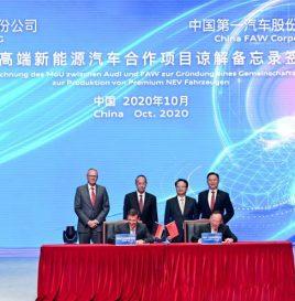 2024年投产 一汽/奥迪成立新合资公司